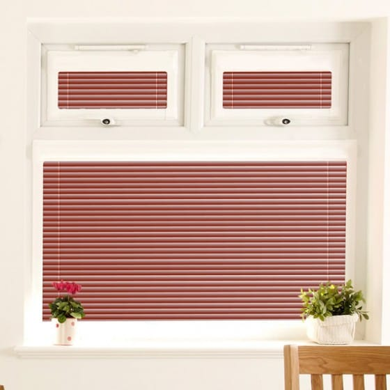 Perfect Fit Summer Brown Venetian Blind