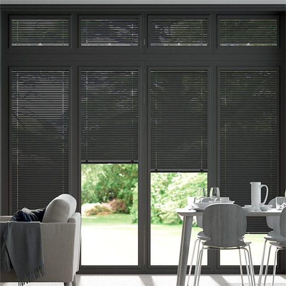Perfect Fit Timeless Grey Venetian Blind