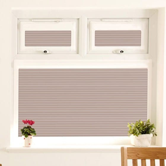 Perfect Fit Warm Grey Venetian Blind