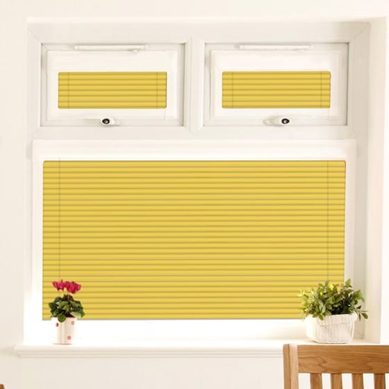 Perfect Fit Warm Yellow Venetian Blind
