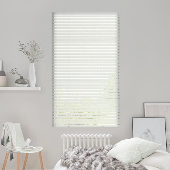 Pinpoint Cream Venetian Blind