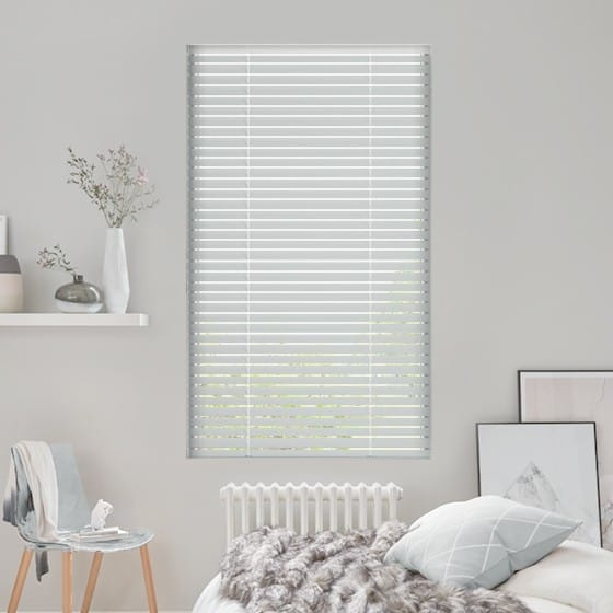 Pinpoint Silver Venetian Blind