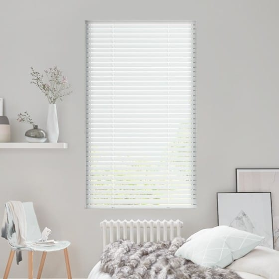 Pure White Venetian Blind