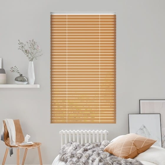 Razzmattazz Brown Venetian Blind