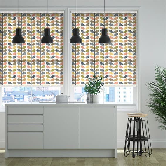 Scribble Stem Multi Roller Blind