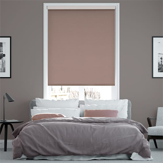 Select Alberta Linen Barely Rose  Roller Blind