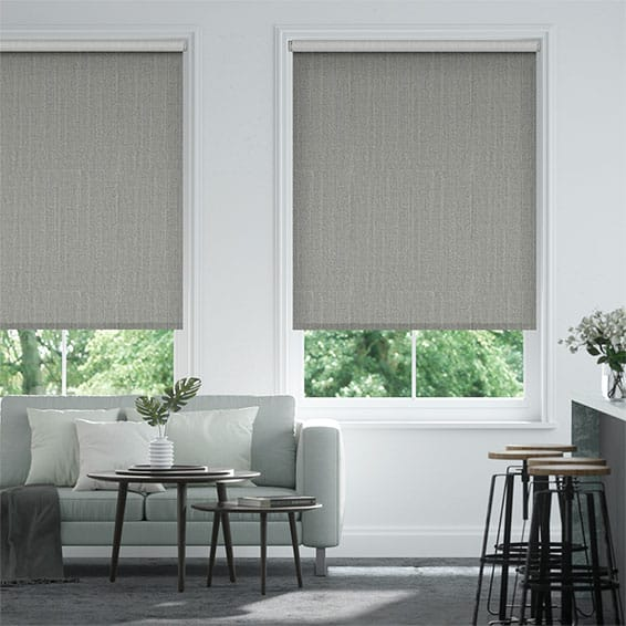 Select Alberta Linen Neutral Grey Roller Blind