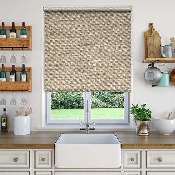 Select Arizona Linen Buff Roller Blind
