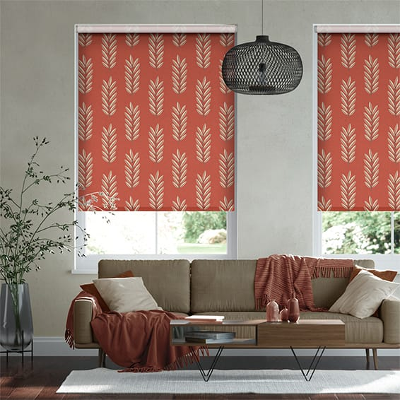 Select Folia Habanero Roller Blind