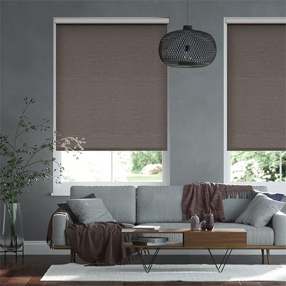 Select Lakeshore Umber Roller Blind