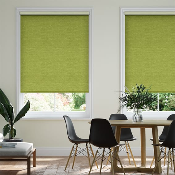Select Lakeshore Bright Green Roller Blind