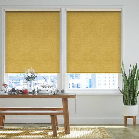 Select Lakeshore Yellow Roller Blind