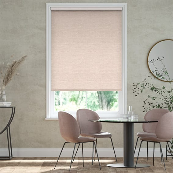Select Lakeshore Soft Pink Roller Blind