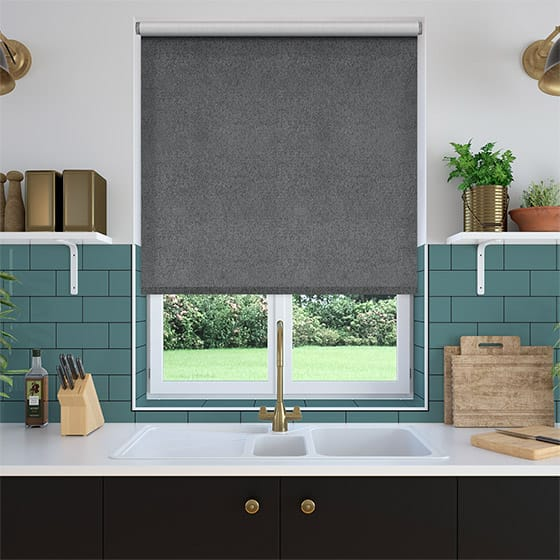 Select Mostar Flannel Grey Roller Blind