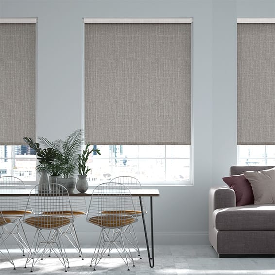 Select Pembroke Ash Grey Roller Blind