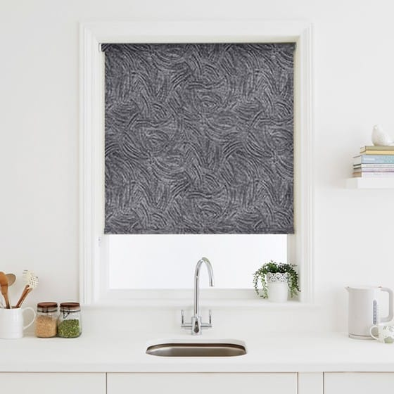 Sheen Black Roller Blind
