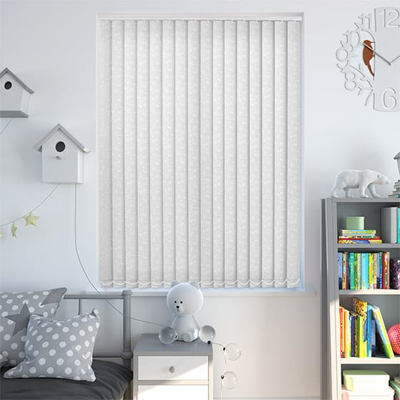 Sierra Cotton Vertical Blind