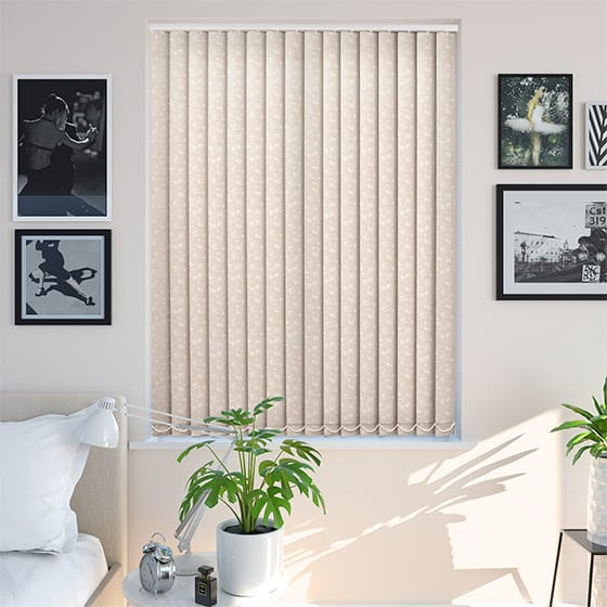 Sierra Peach Vertical Blind