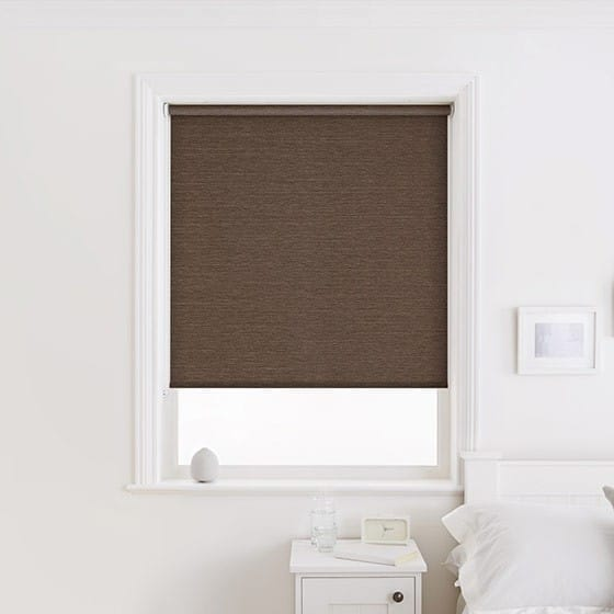 Silky Chocolate Roller Blind