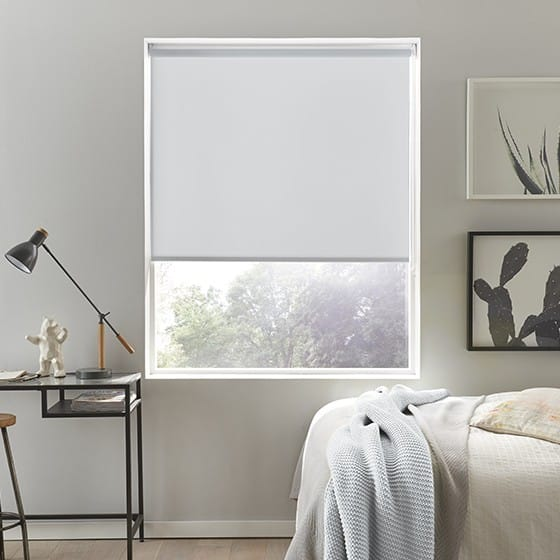 Sleek Grey Roller Blind