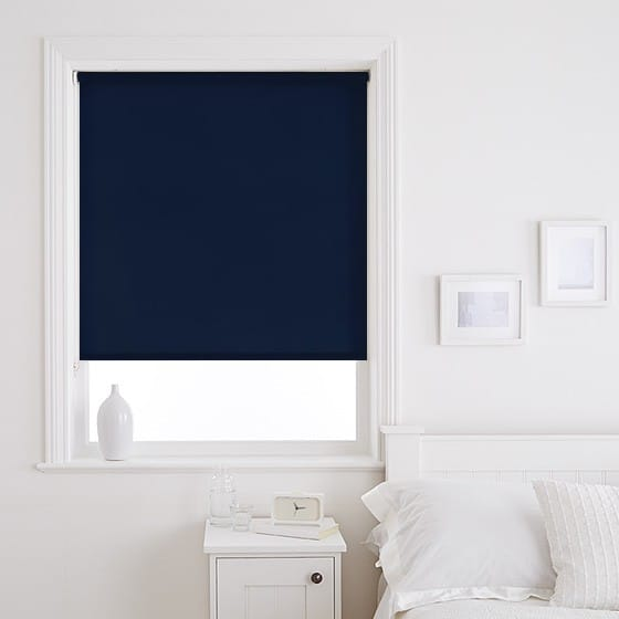 Sleek Indigo Roller Blind