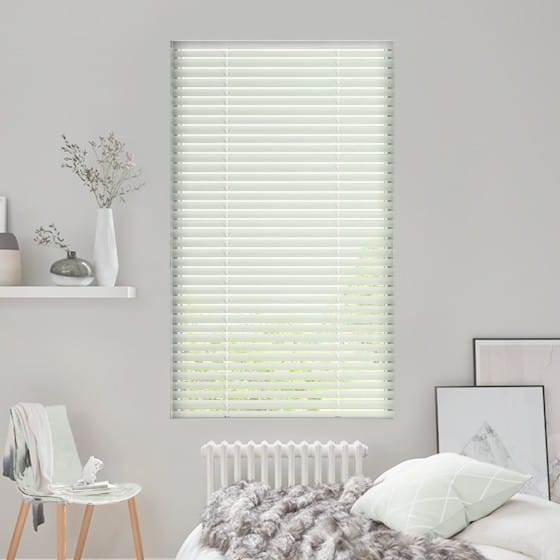 Soft Mint Venetian Blind