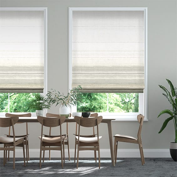 Sunrise Stone Roman Blind