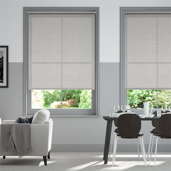 Symphony Lightest Grey Roller Blind