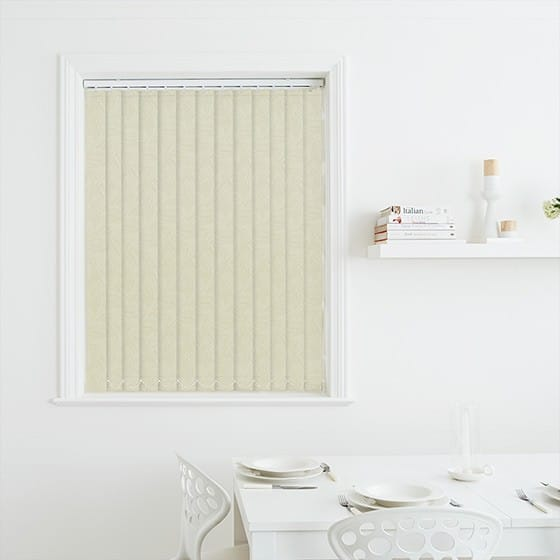 Tapestry Pearl Blackout Vertical Blind