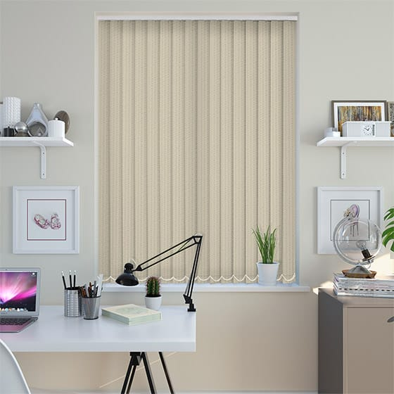 Tate Cream Vertical Blind