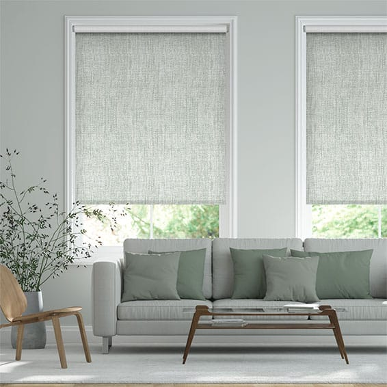 Thermo Linen Soft Grey Roller Blind