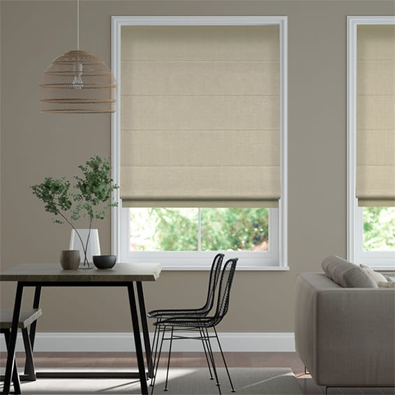 Toulouse Hessian Roman Blind