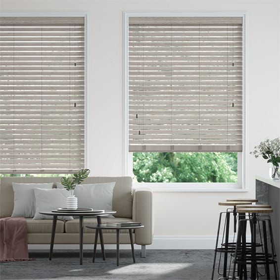 Urbanite Birch Grey Wooden Blind