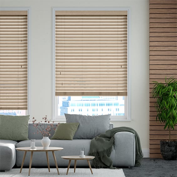 Urbanite California Sycamore Wooden Blind