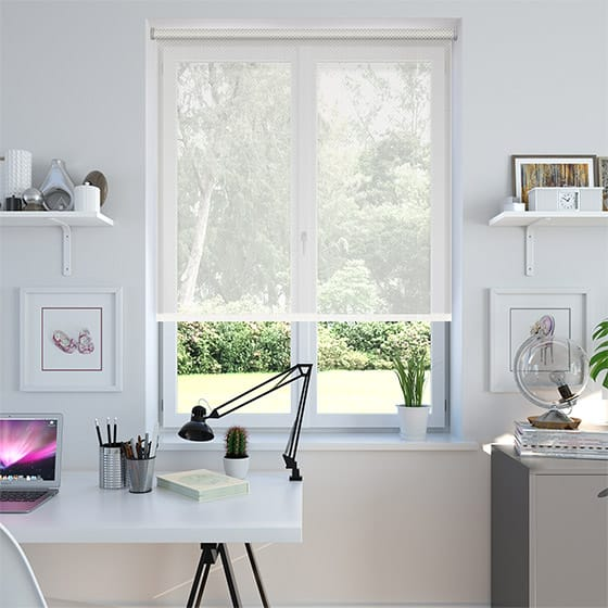 Vision Screen Crisp White Roller Blind