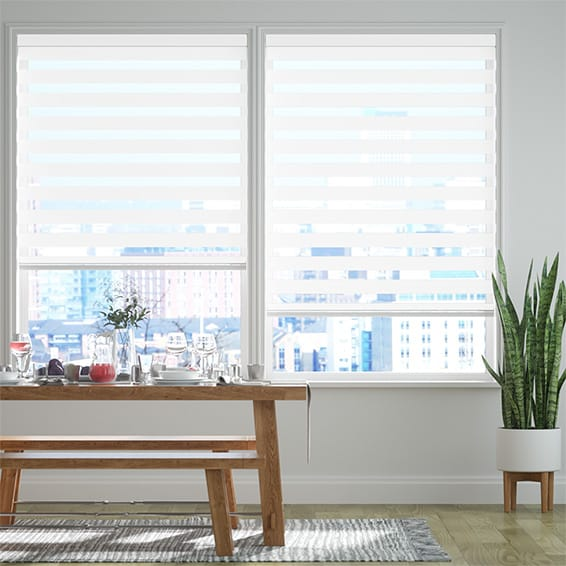 Enjoy™ Dimout Ice White Roller Blind