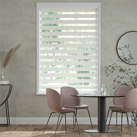Enjoy™ Luxe Platinum Pearl Roller Blind