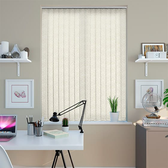 Viviana Gentle Cream Vertical Blind