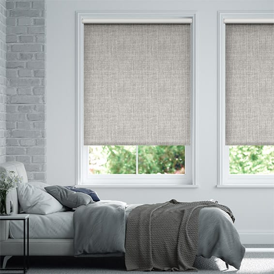 Vogue Blackout Ash Grey Roller Blind