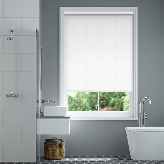 Vogue Blackout White  Roller Blind
