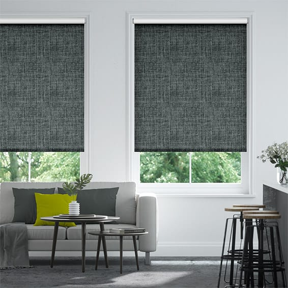Vogue Blackout Slate Roller Blind