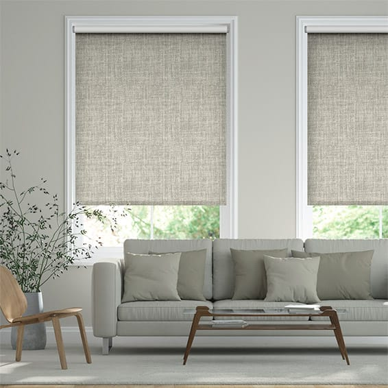 Vogue Blackout Stone Grey Roller Blind