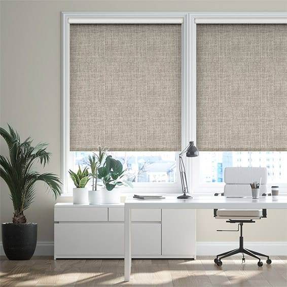 Vogue Blackout Warm Grey Roller Blind