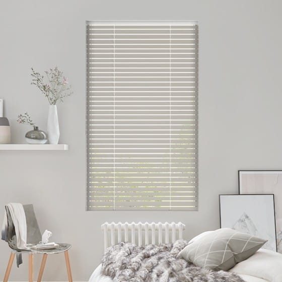 Warm Grey Venetian Blind