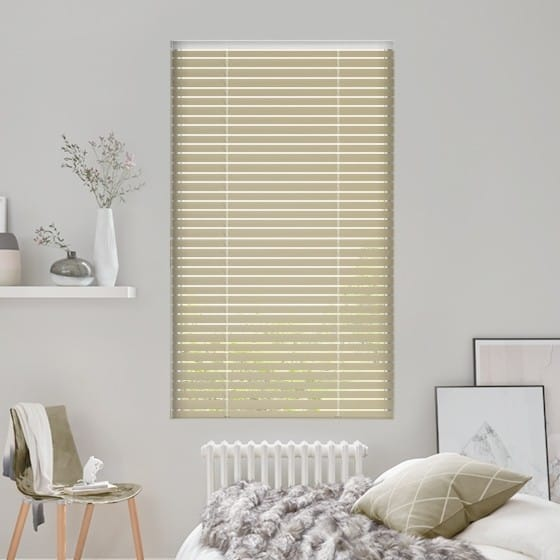 Warm Taupe Venetian Blind