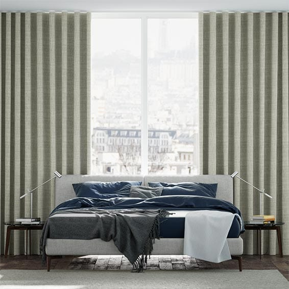 Wave Napton Grey Curtains
