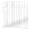 Wave Ribbed Voile Ice White Curtains sample image